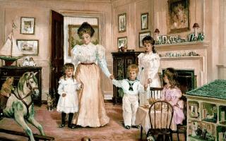 Воспитание дворянских детей