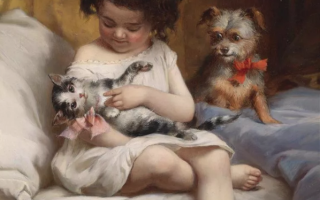 Купите ребенку кошку