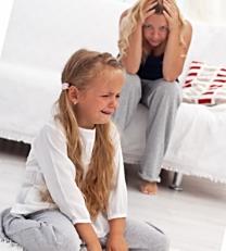 у ребенка истерика 9