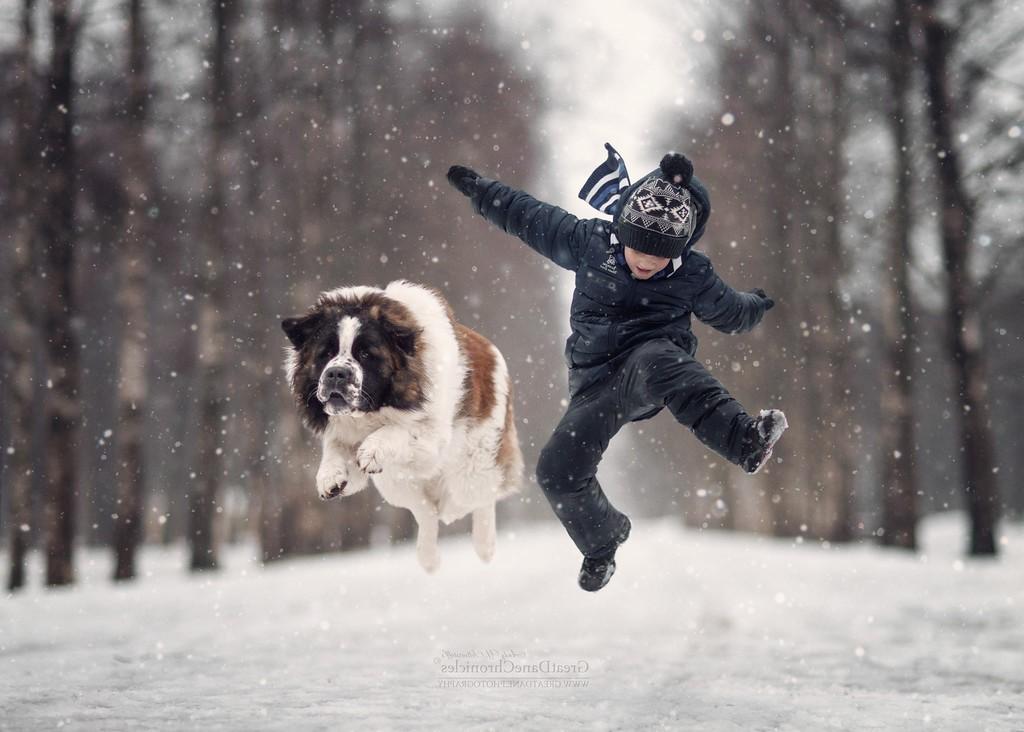 собака и ребенок 14