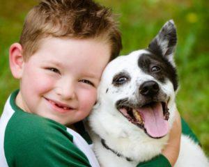 собака и ребенок 9