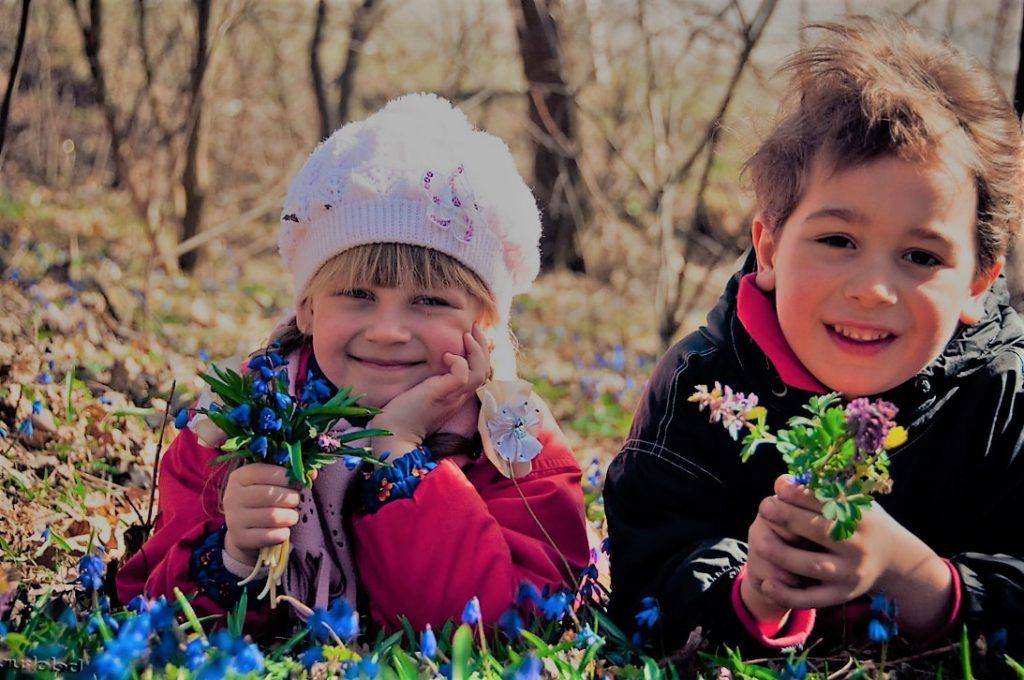 отдых с детьми весной